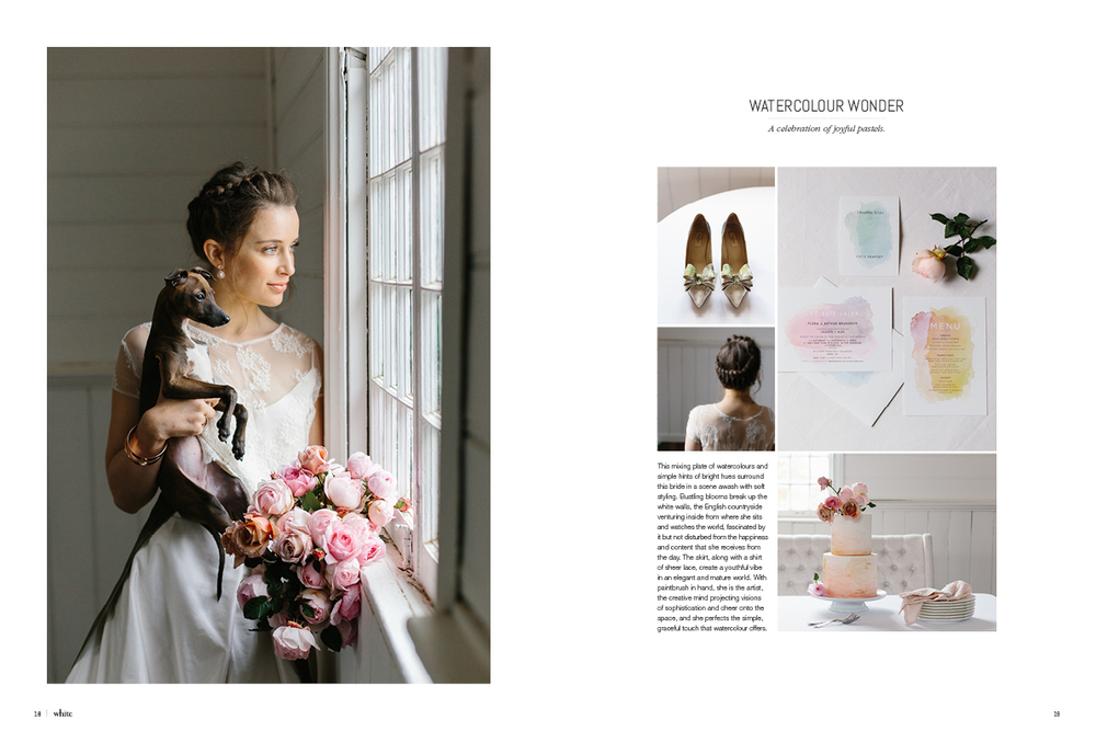 Melbourne wedding photographer, Marnie Hawson for White Magazine editorial