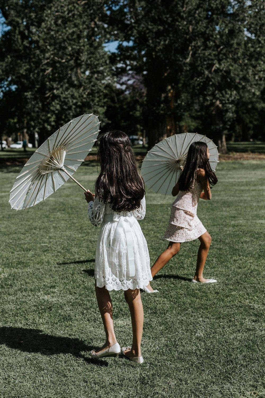 Anna + Nilesh, Fitzroy Gardens, Melbourne wedding. Photo: Marnie Hawson