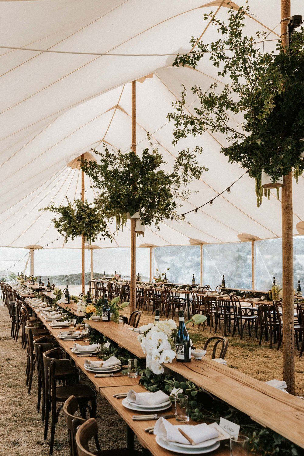 Under Sky, Sperry Tent hire for weddings - an alternative to wedding marquees