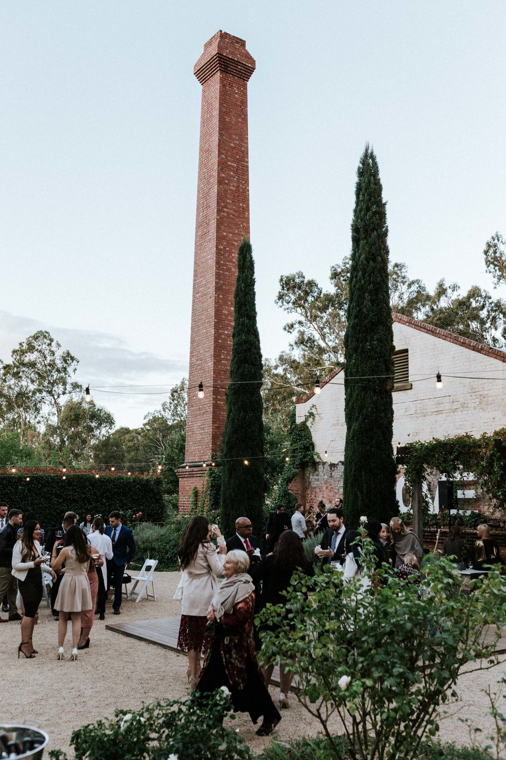 The Euroa Butter Factory, country Victoria wedding venue