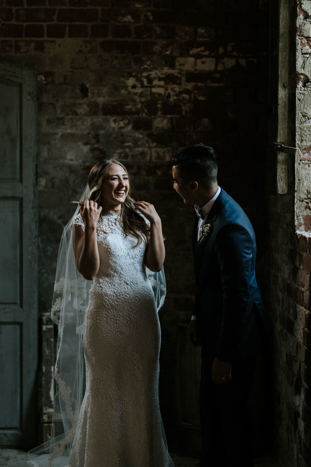 Lanita + Michael's wedding at Euroa Butter Factory