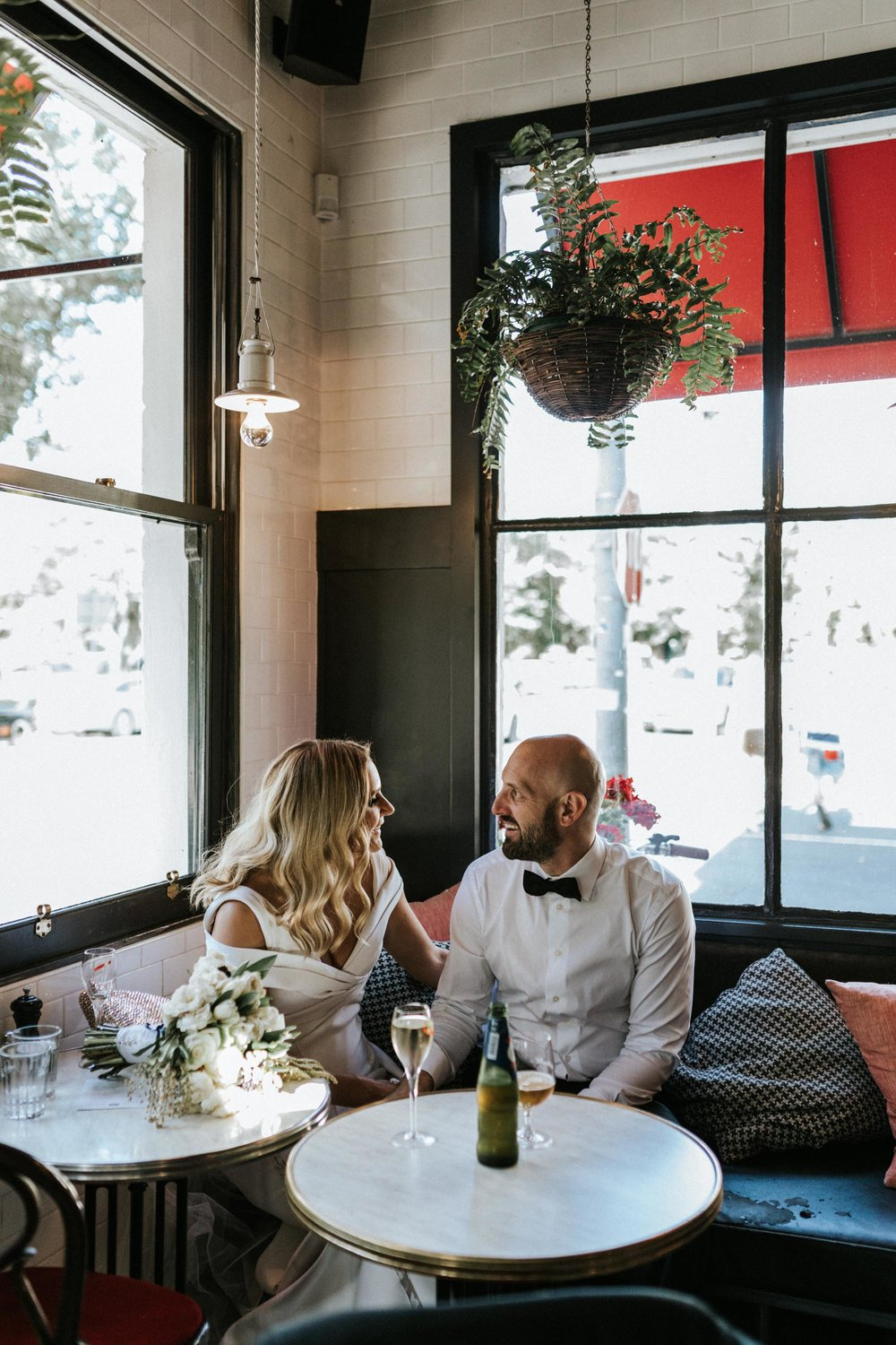 Marnie Hawson, Melbourne wedding photography for Andy + Mat and the Panama Dining Room