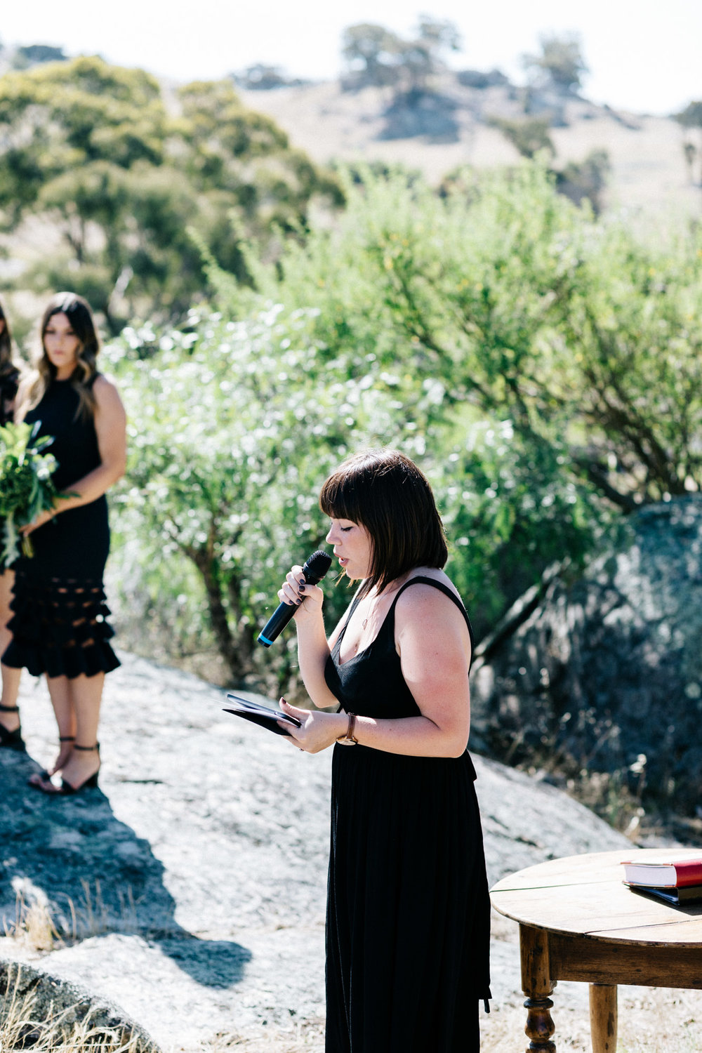 Megan Thompson, Macedon Ranges celebrant. Photo by Marnie Hawson Weddings