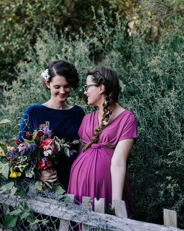 Heather + Johanna, getting hitched on International Women's Day ❤️