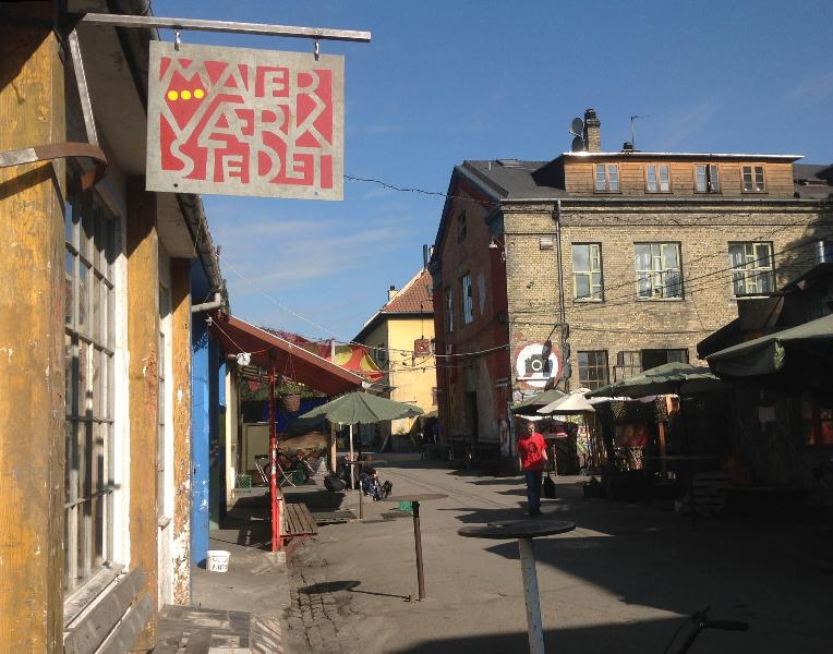 Christiania streets