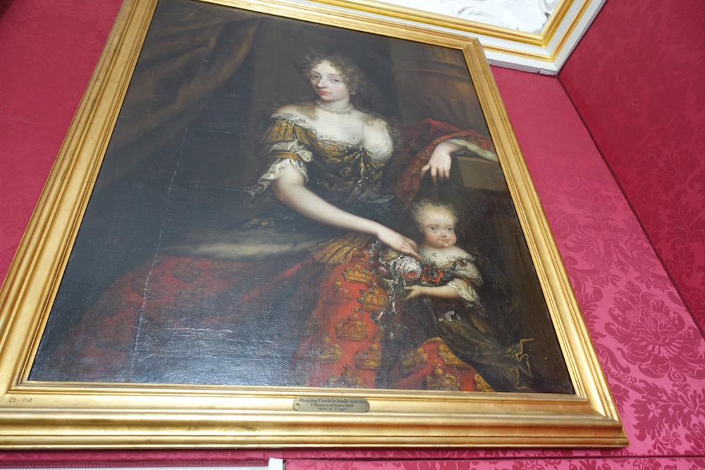 painting of the queen denmark