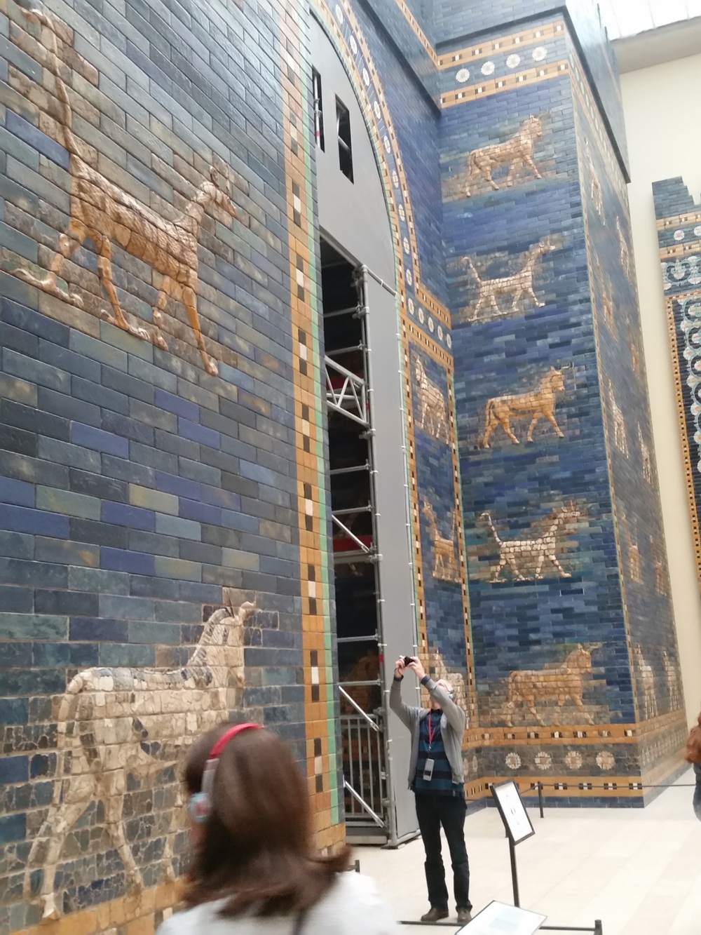 Ishtar Gate of Babylon at the Pergamon