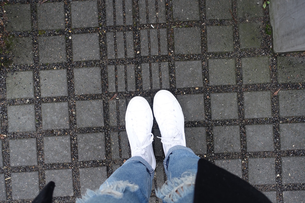 Eve's shoes at the Jewish Memorial in Berlin