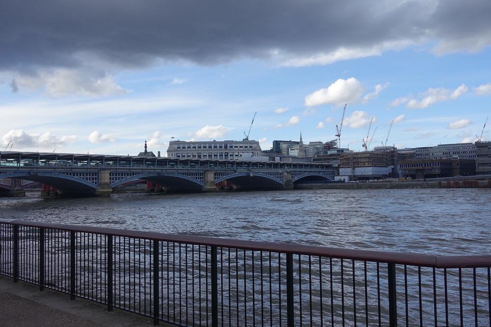 River Thames in London UK