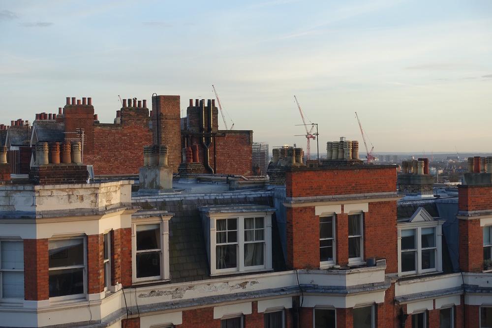 Chimneys in West End