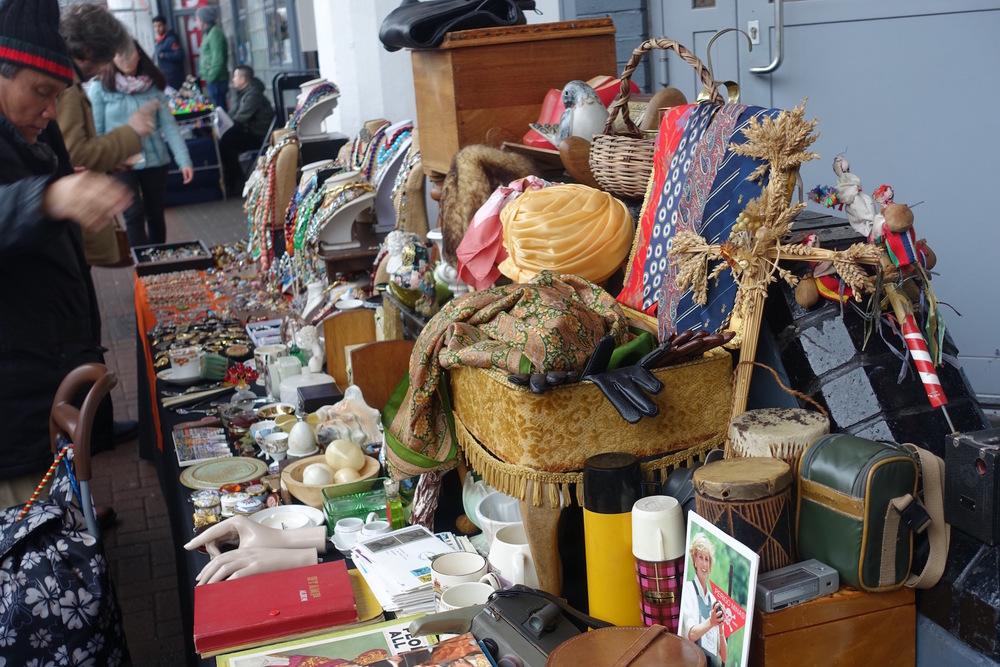 Flea Market Goods Portobello Road