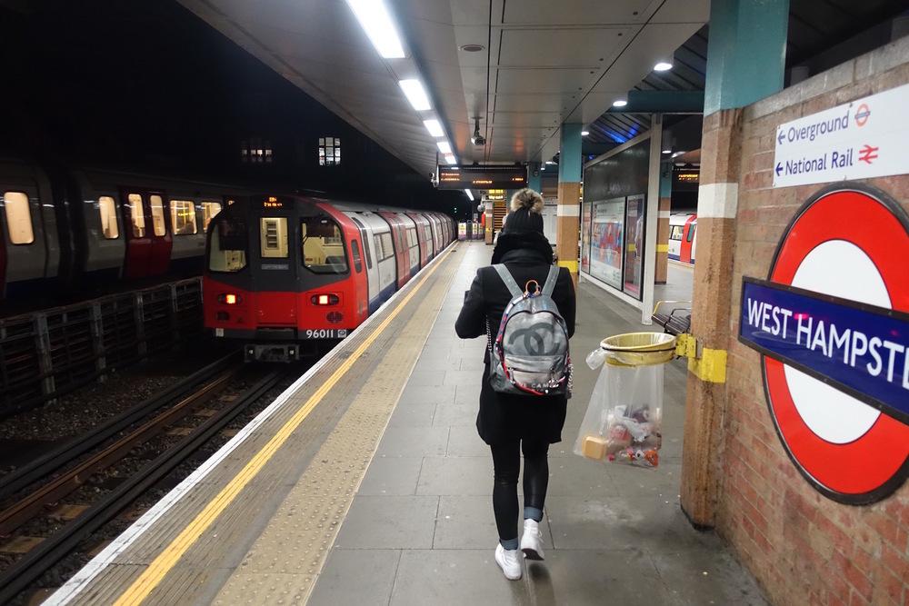 Eve on London's Metro