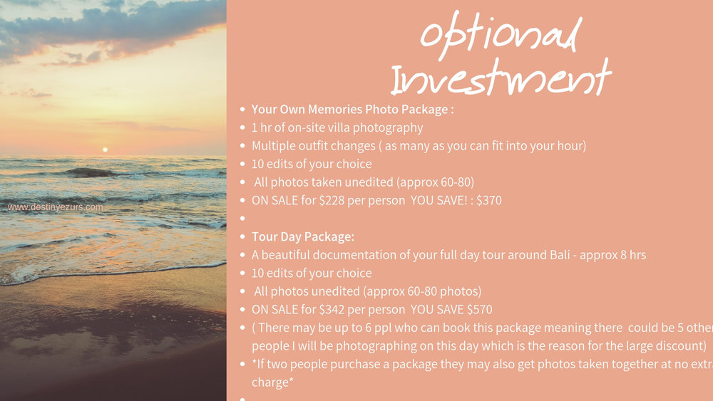hire a photographer in bali