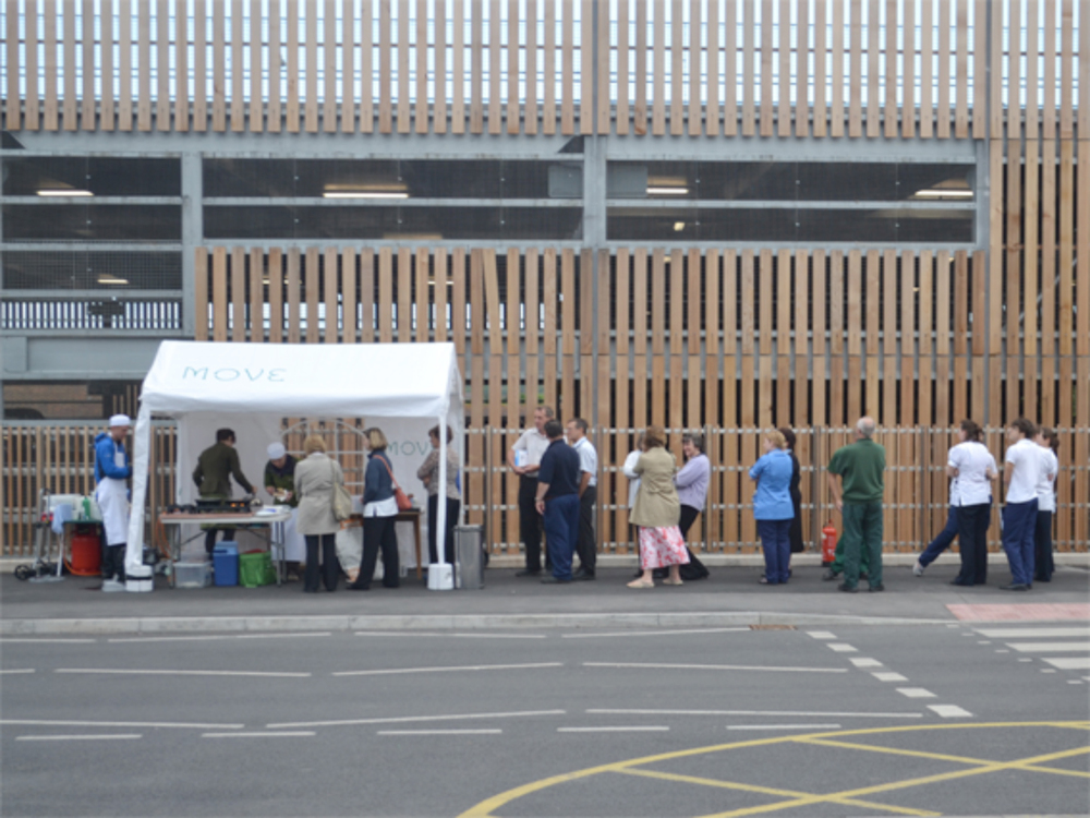 Moveable Feast, Moving Hospital 2012