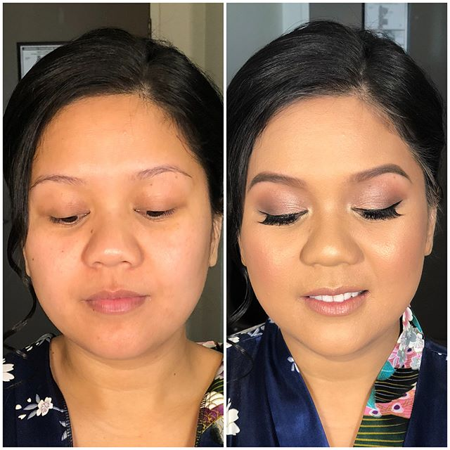 Bridesmaid glow for Inday 💁🏻‍♀️ Back at it again with soft pinky tones using @urbandecaycosmetics Naked 3, brows using @anastasiabeverlyhills Dipbrow & Brow powder 🙌🏼 ⠀⠀⠀⠀⠀⠀⠀⠀⠀ #hudabeauty #anastasiabeverlyhills #dressyourface #wakeupandmakeup #vegas_nay #brian_champagne #laurag_143 #melbournemakeupartist #melbournemua #bridalmakeup #wedding #weddingmakeup #weddingday #bride #melbournewedding