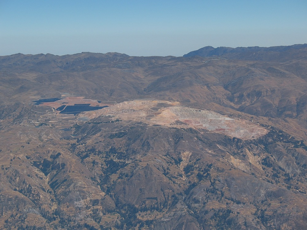 Barrick Gold's Pierina mine has transformed both the landscape and regional livelihoods in highland Peru. ©Adam French