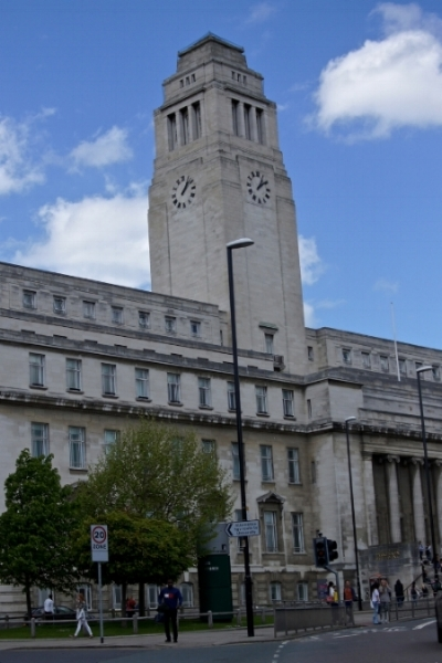 Parkinson Building, Leeds University. Photo: Andrew Howdle