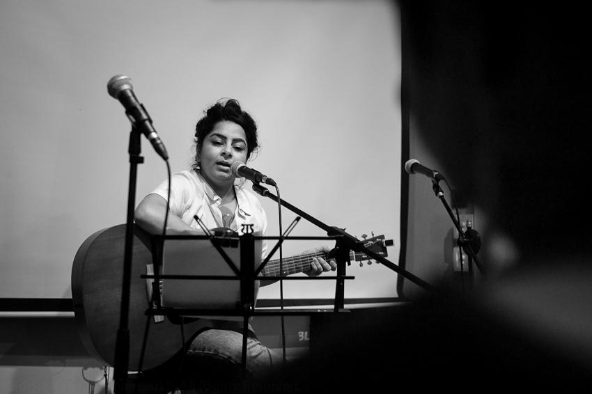 Pooja Nansi singing.jpg