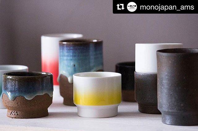 #Repost @monojapan_ams ・・・ Beautiful designs by Asemi #asemi #tableware #ceramics #handmade #amsterdam #monojapan #monojapan_ams #アムステルダム #オランダ #hasami #bizen #porcelain  #matsushiro #pottery #design #interiordesign