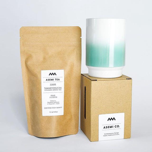New Tea&Cup combo in the shop! #波佐見 #湯呑み #九州 #長崎 #プロトタイプ  #アセミコ #design #tableware #ceramics #porcelain #Hasami #hasamiyaki #japan #ラムネ#kyushu #teacup #instapotter #asemico #contemporarydesign #minimalism #tea #coffee #interiordesign #pastel #greentea #ドリップコーヒー  #minimalove #tea #tamaryokucha