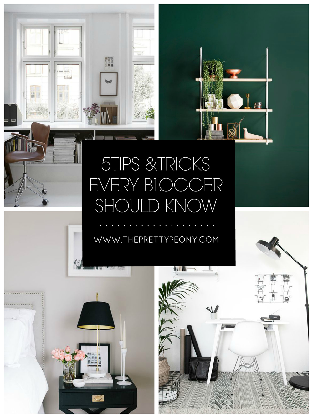 5 Tips & Tricks Every Blogger Should Know | www.theprettypeony.com