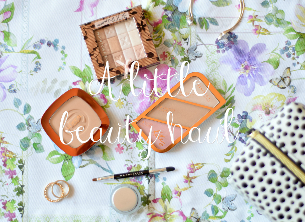 A little Beauty Haul | www.theprettypeony.com