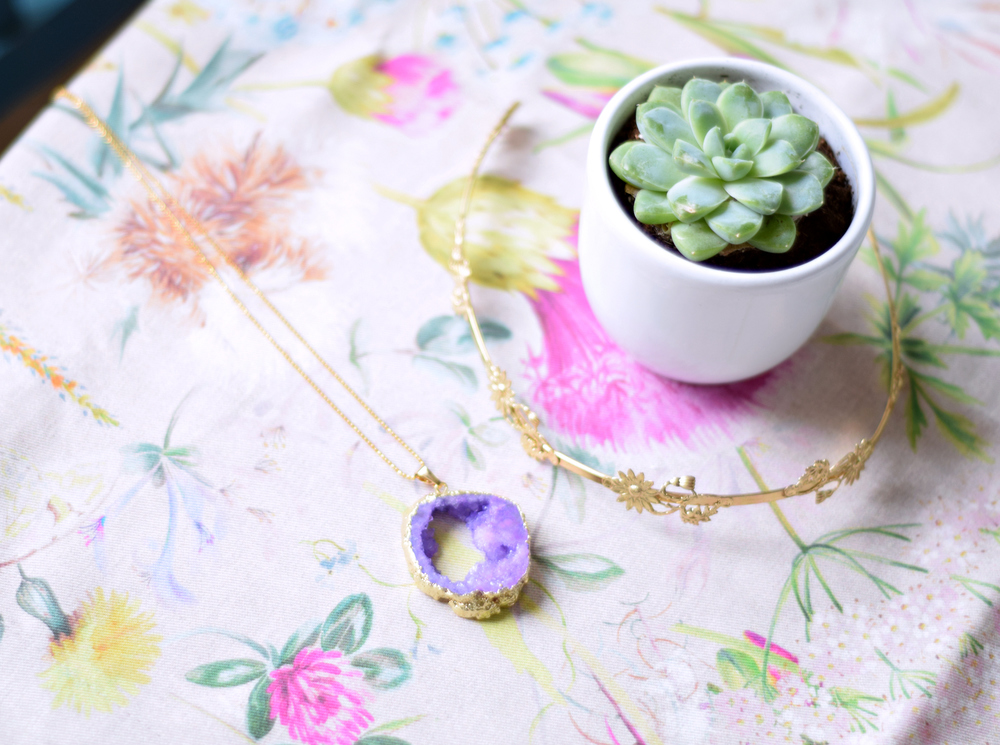 Weekend Notes | Cacti, Zara Runner, Etsy Necklace | www.theprettypeony.com