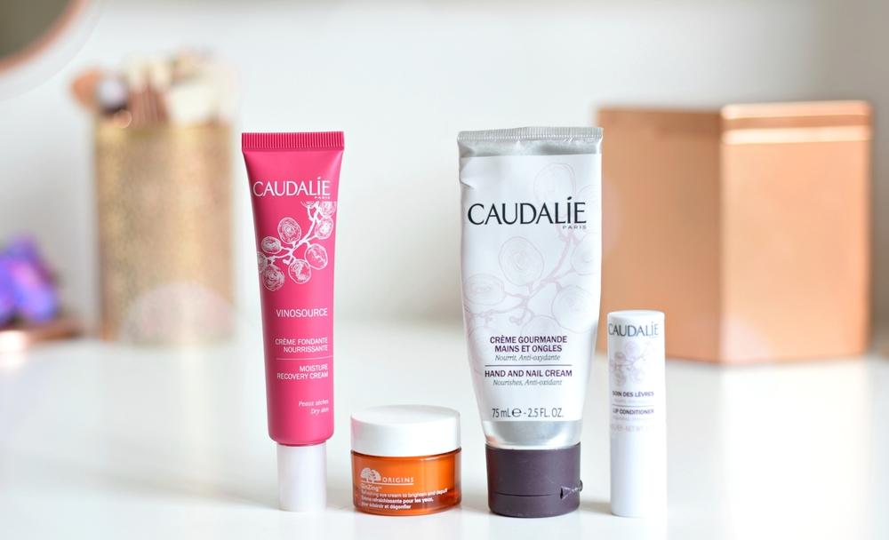 Morning Skincare Routine | Lazy Day - www.theprettypeony.com | Origins/Caudalie