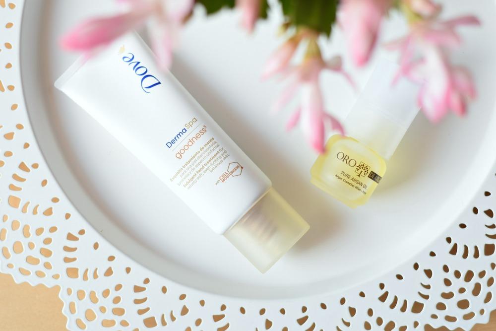 Dove Derma Spa Hand Cream / Pure Argan Oil | www.theprettypeony.com