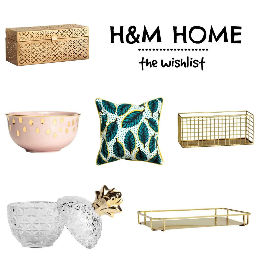 H&M HOME | the wishlist - www.theprettypeony.com