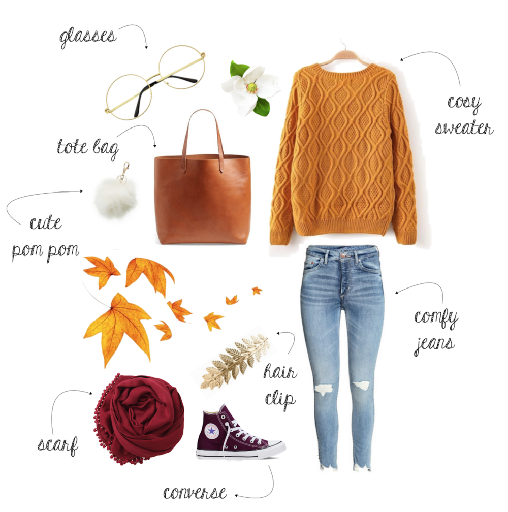 Casual & Comfy #ootd for Autumn | www.theprettypeony.com