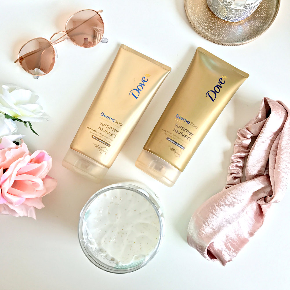 My current Fake Tanning Routine | www.theprettypeony.com
