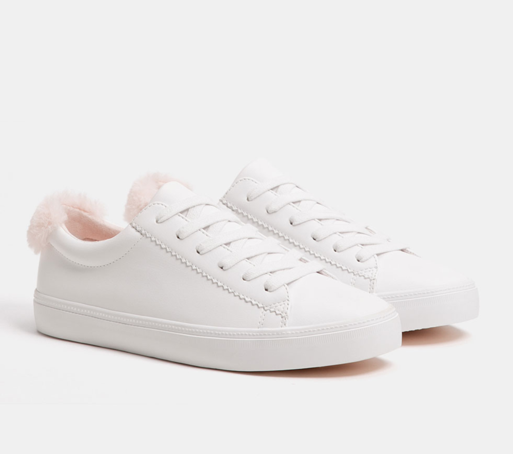 Bershka White Sneakers