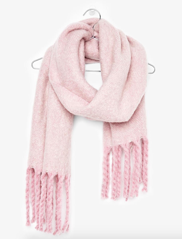 Bershka Pink Scarf