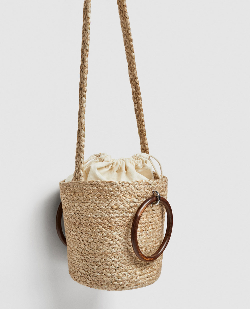 Zara Tote - with wooden handles