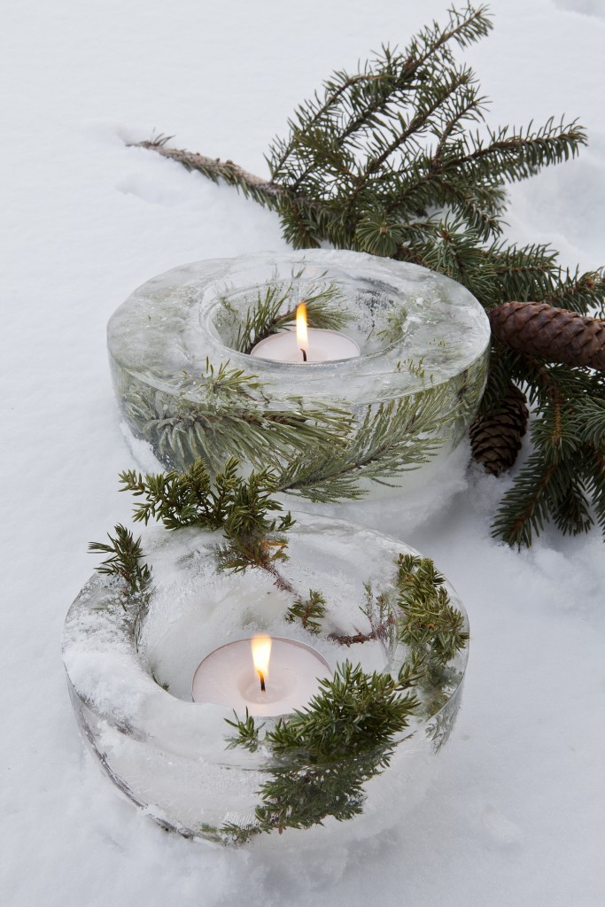 Source:  Iced Herb Tealight Holders