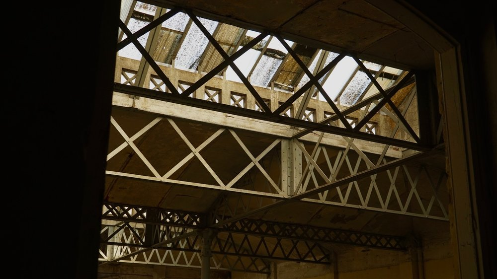 Estructura industrial modernista