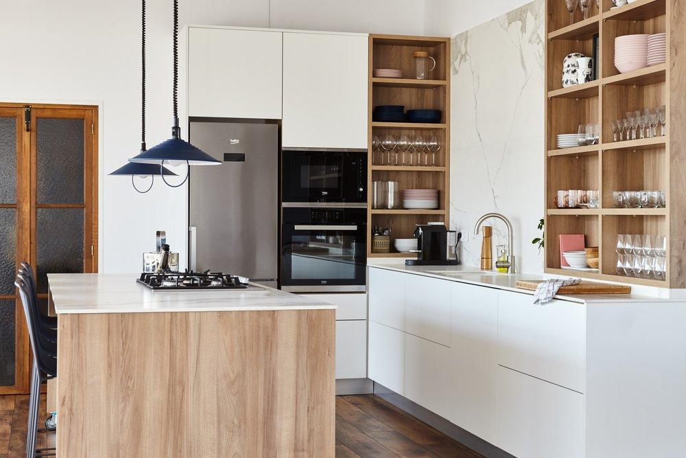 Cocina concepto abierto de ATIC-NOU