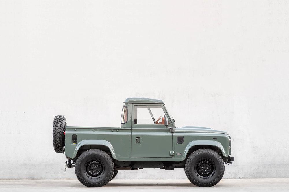 2013, Land Rover D90, Diesel