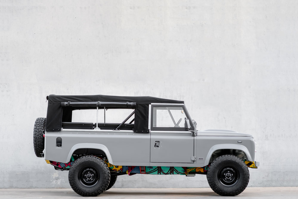 1983, Land Rover 110, Petrol V8 | US Import Eligible