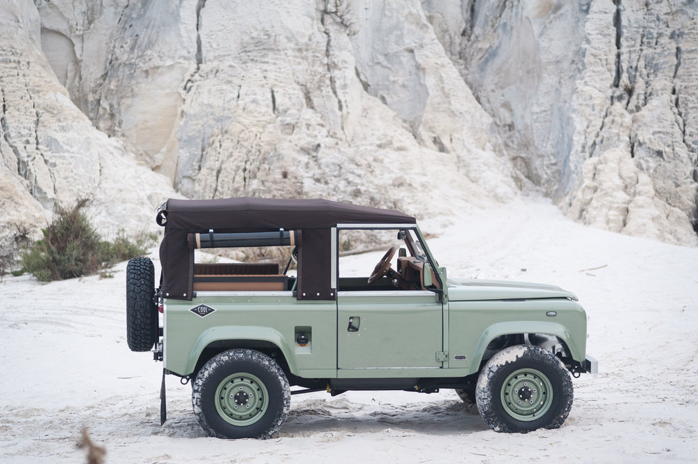 1988, Land Rover D90, Diesel | US Import Eligible