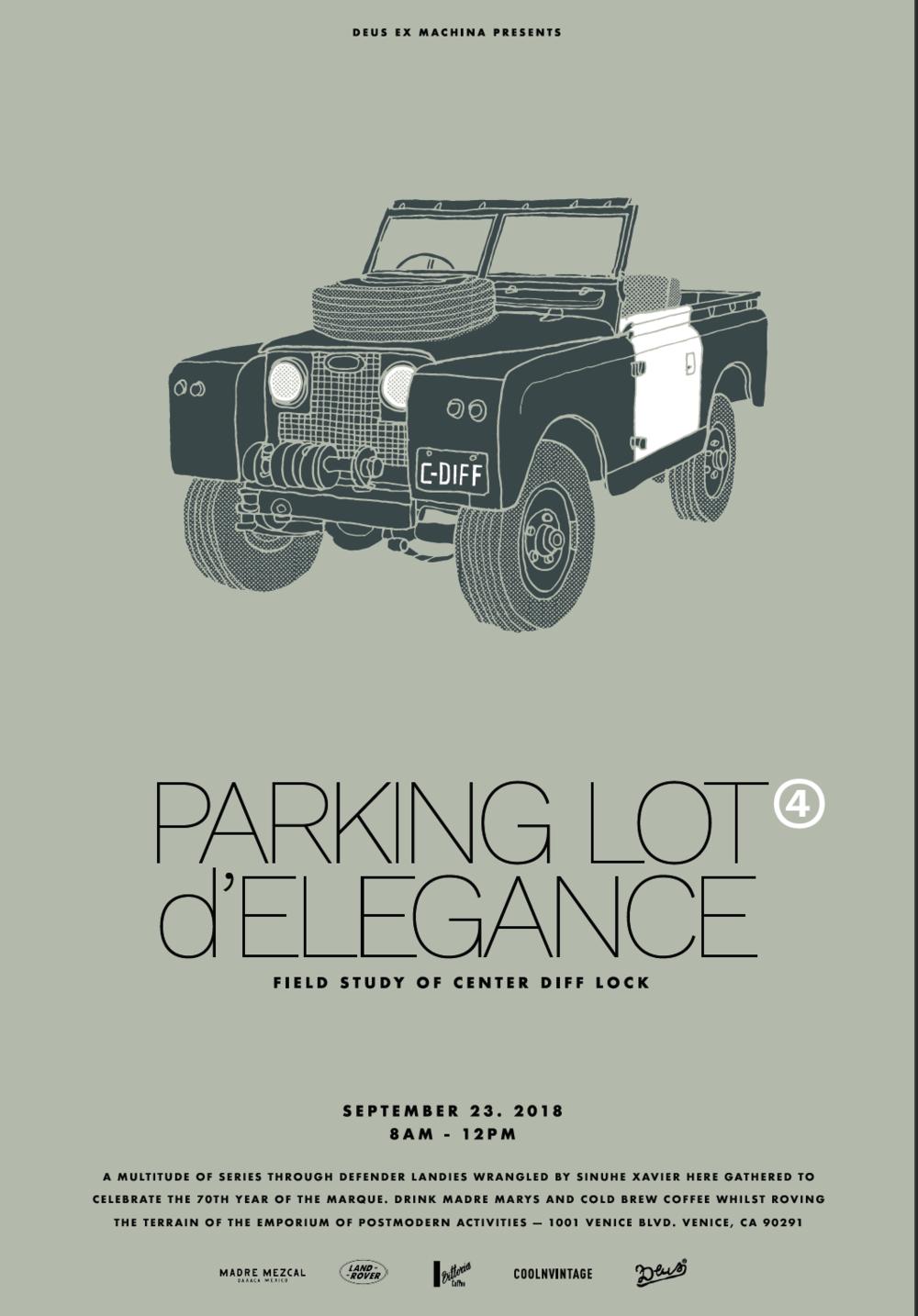 Parking Lot D'Elegance | Deus Ex Machina