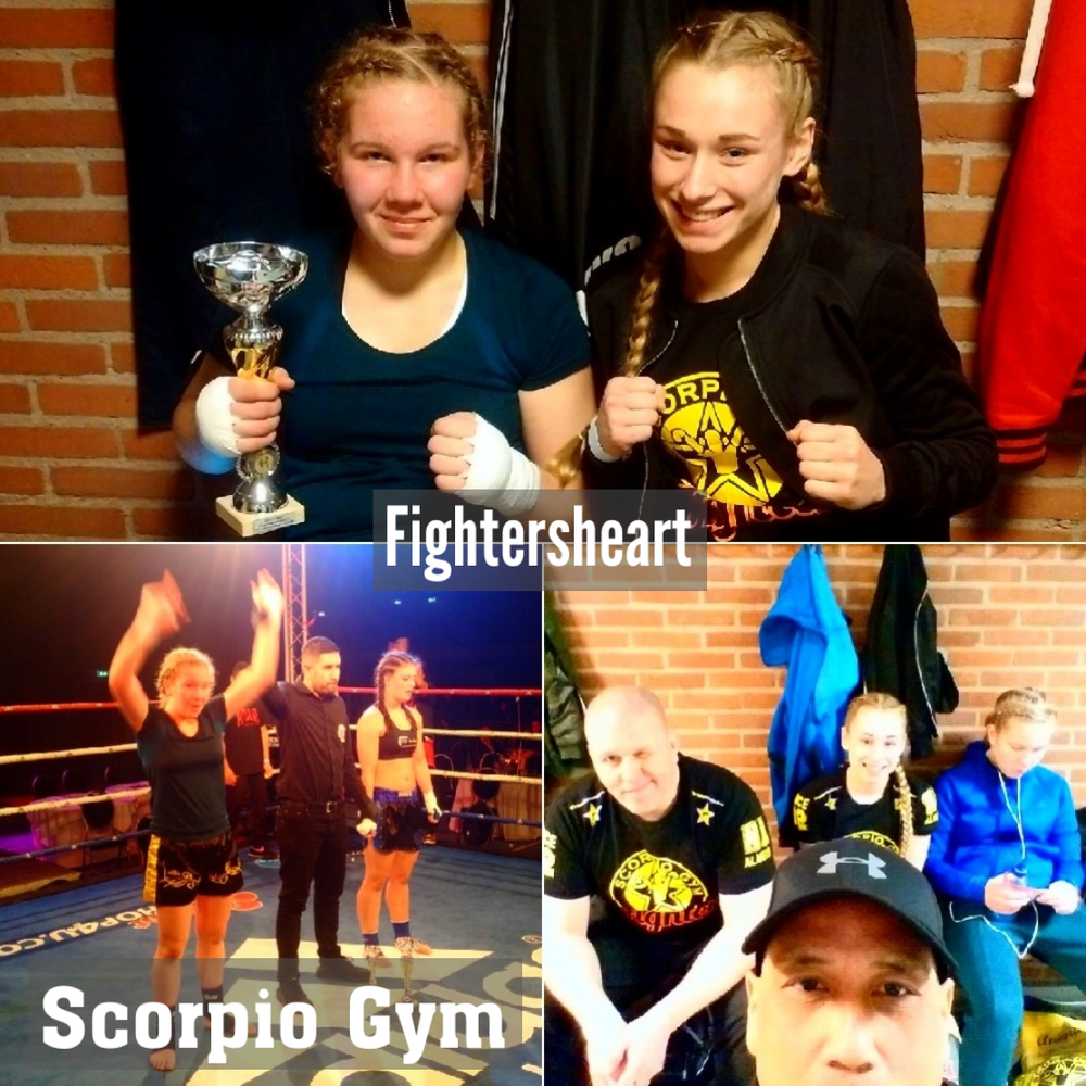 Fightersheart met Anique Hilgerink