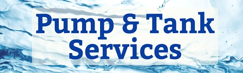 Well Pump and Tank Services and Repair.