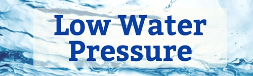 a fix for low water pressure