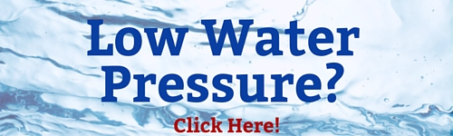 low water pressure solved