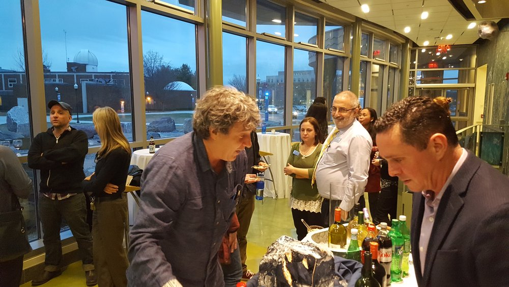Welcome Reception at the  Werth Center for Coastal And Marine Studies