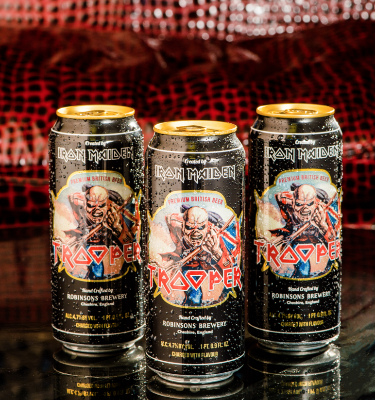 Iron Maiden Trooper Beer 5th of August 2015