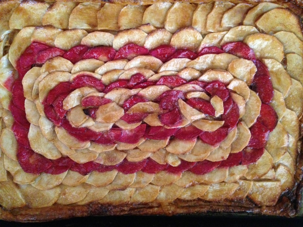 Mosaic Apple Tart