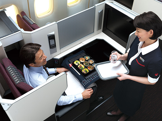 JAL Seats Skysuite Tray down .jpg